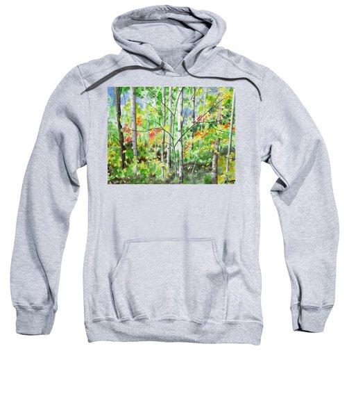 Watercolor - Northern Forest Sweatshirt