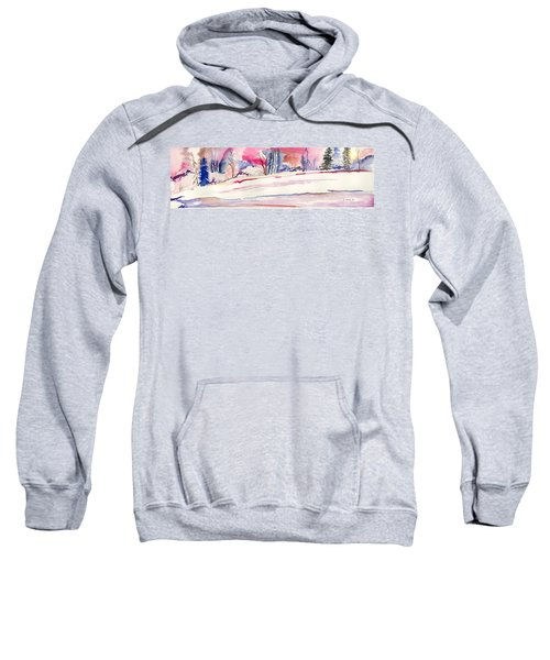 Watercolor River Sweatshirt