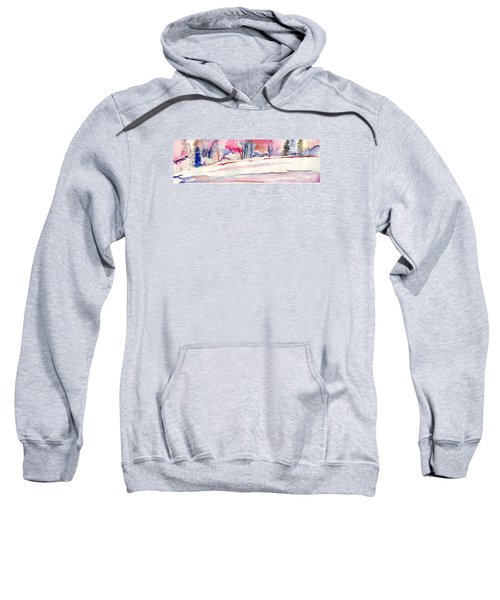 Watercolor River Sweatshirt