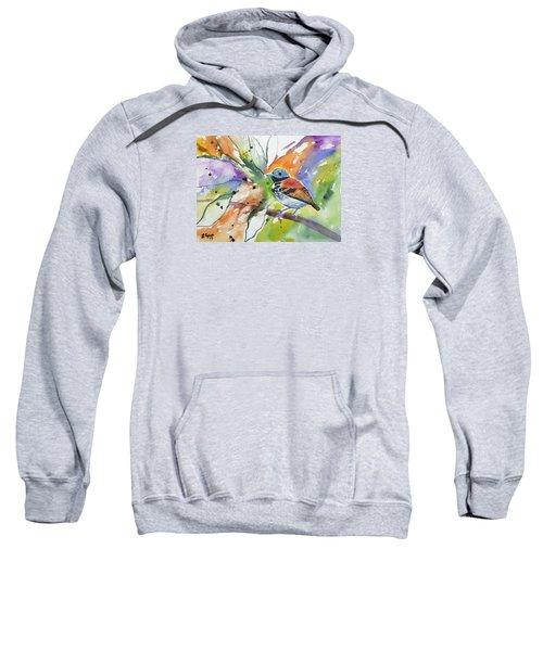 Watercolor - Spotted Antbird Sweatshirt