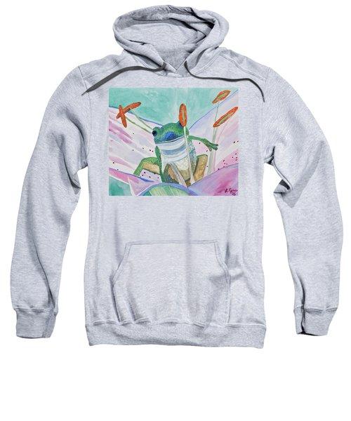 Watercolor - Tree Frog Sweatshirt