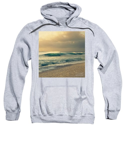 Waves Of Light - Hipster Photo Square Sweatshirt