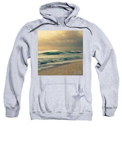 Waves Of Light - Hipster Photo Square Sweatshirt