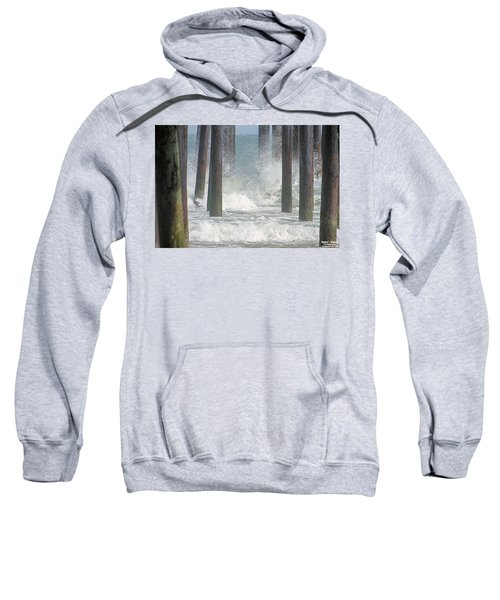 Waves Under The Pier Sweatshirt