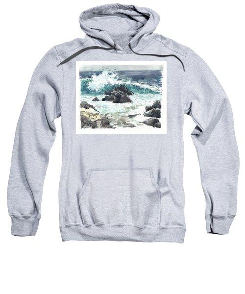 Wawaloli Beach, Hawaii Sweatshirt