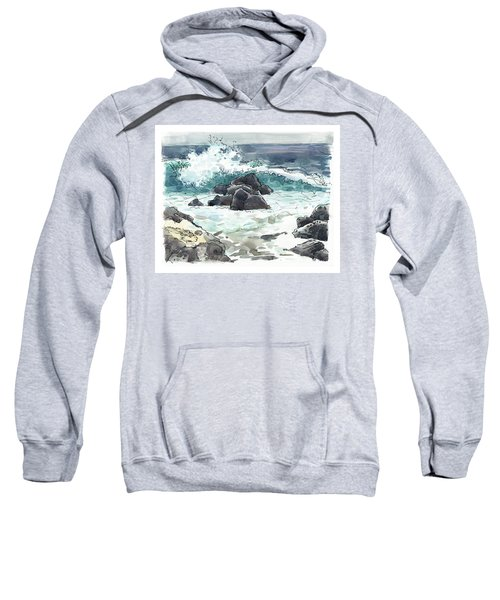 Wawaloli Beach, Hawaii Sweatshirt