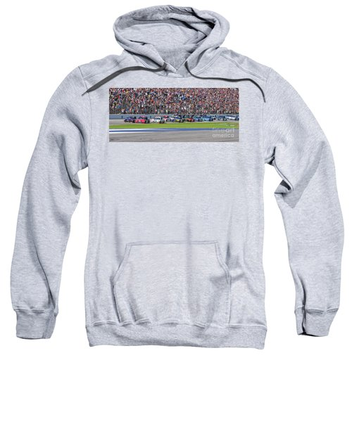 We Have A Race Sweatshirt