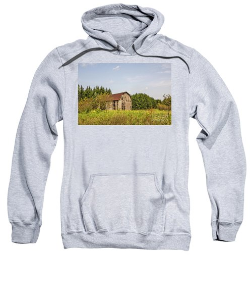 Weathered Barn Basking In The Summer Sun Sweatshirt