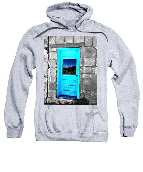 Weathered Blue Sweatshirt
