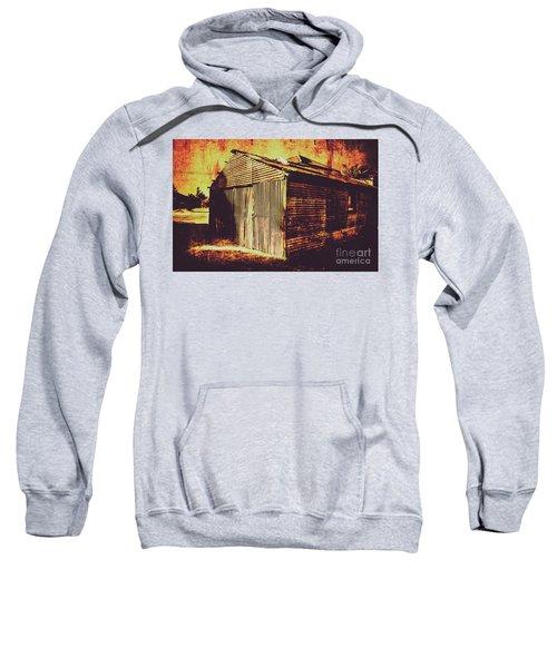 Weathered Vintage Rural Shed Sweatshirt