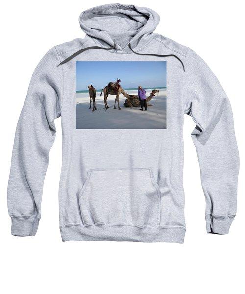 Wedding Camels In The Waiting ... Sweatshirt
