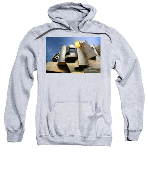 Weisman Art Museum University Of Minnesota Sweatshirt by Wayne Moran