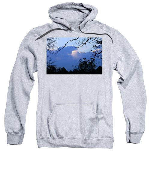 Sweatshirt featuring the photograph Welcoming Light by Hanne Lore Koehler