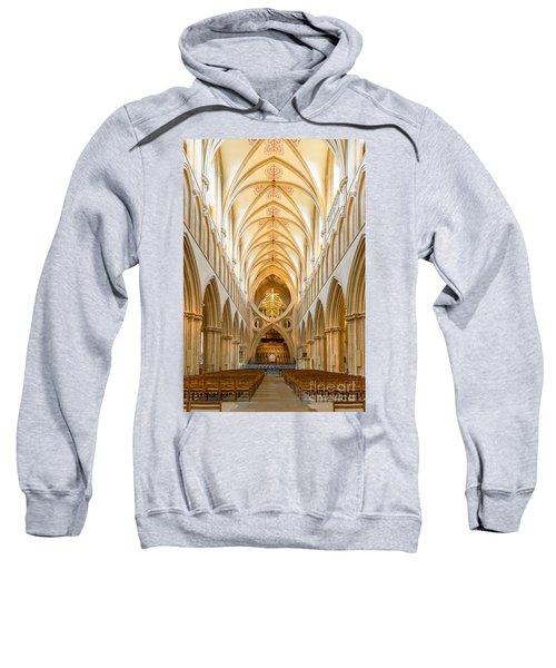 Wells Cathedral Nave Sweatshirt
