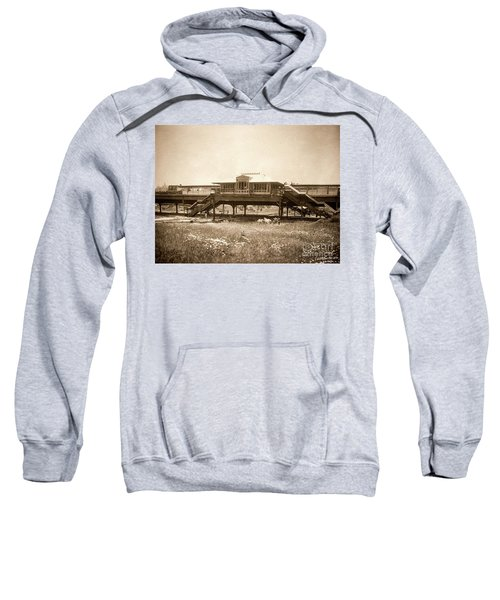 West 207th Street, 1906 Sweatshirt by Cole Thompson