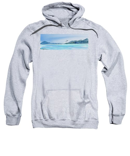 West Coast  Isle Of Pines, New Caledonia Sweatshirt