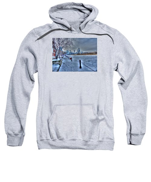 West From Navy Pier Sweatshirt