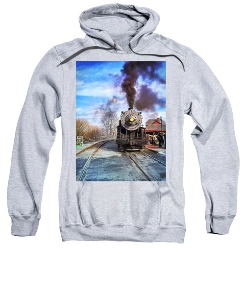 Western Maryland Steam Engine Sweatshirt