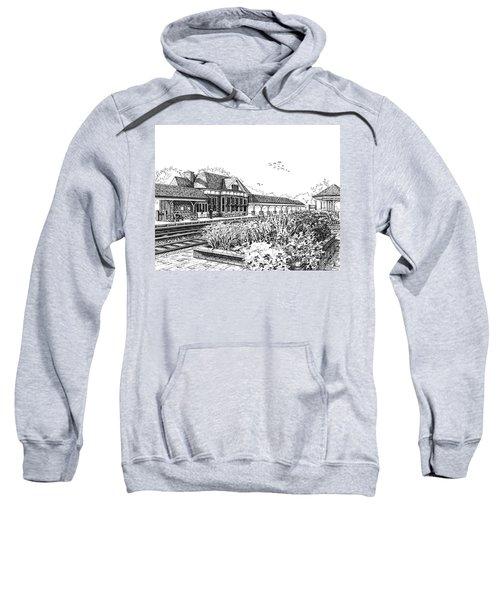 Western Springs Train Station Sweatshirt