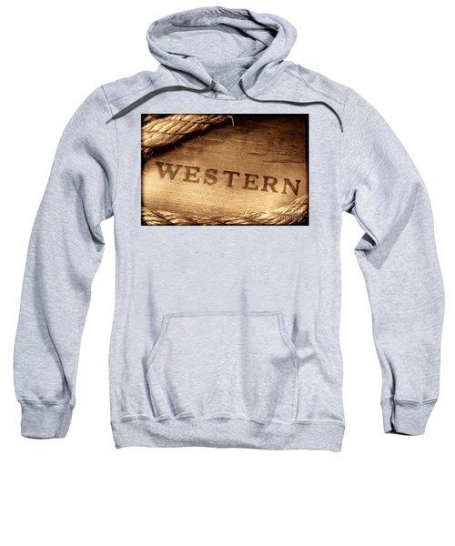 Western Stamp Branding Sweatshirt