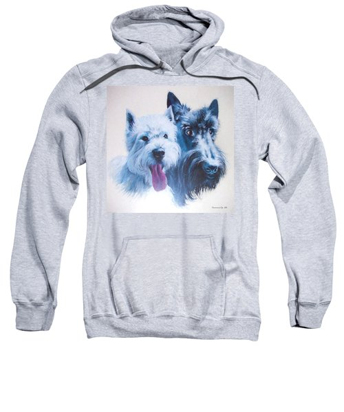 Westie And Scotty Dogs Sweatshirt