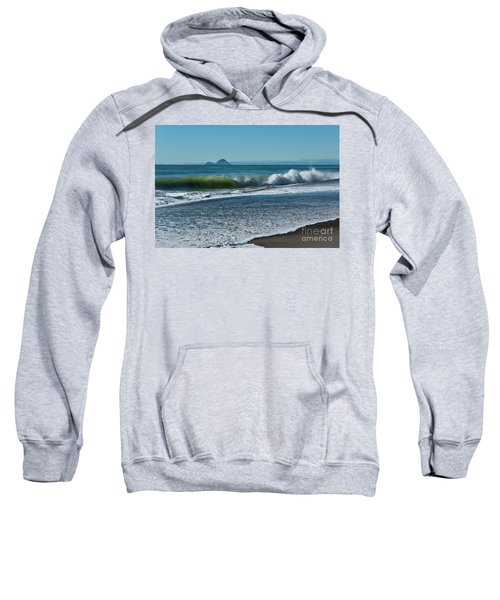 Sweatshirt featuring the photograph Whale Island by Werner Padarin