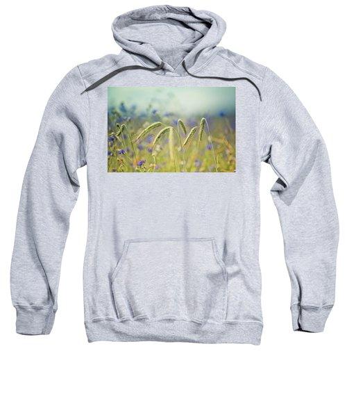 Wheat And Corn Flowers Sweatshirt