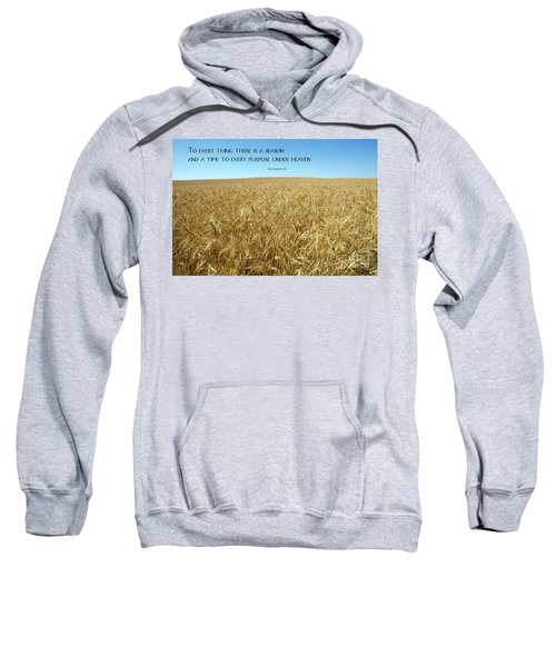 Wheat Field Harvest Season Sweatshirt