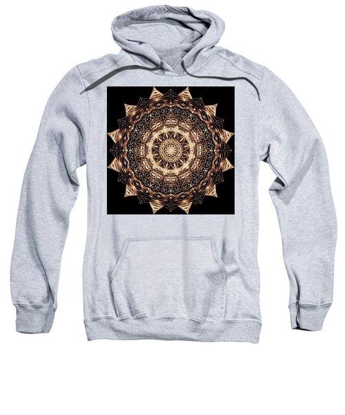 Wheel Of Life Mandala Sweatshirt