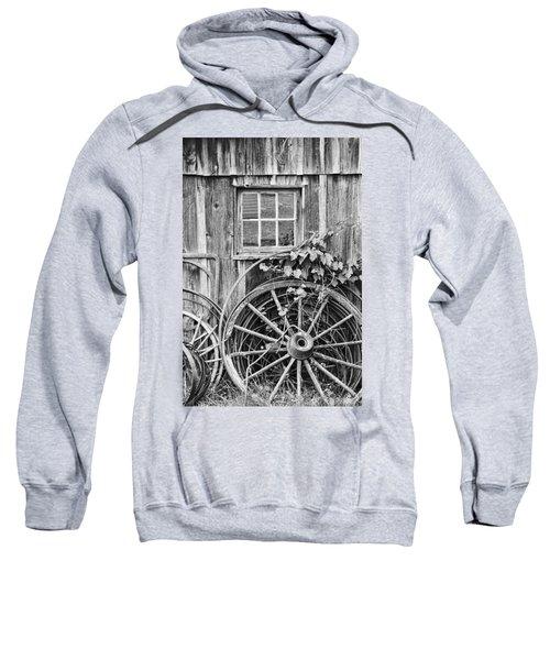 Wheels Wheels And More Wheels Sweatshirt