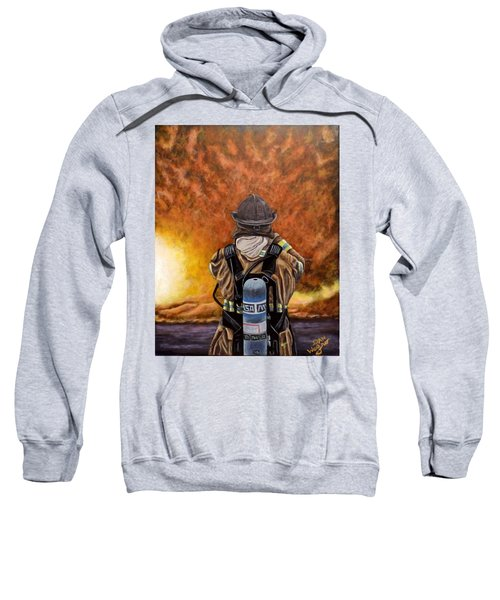 When Hell Comes To Visit Sweatshirt