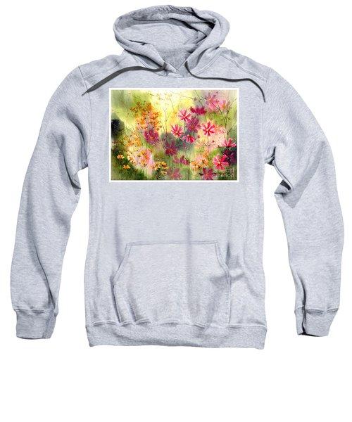 Where The Pink Flowers Grow Sweatshirt