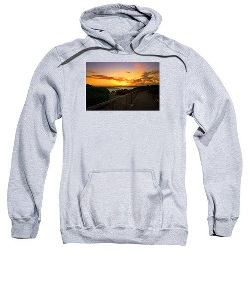 While You Walk Sweatshirt by Miroslava Jurcik