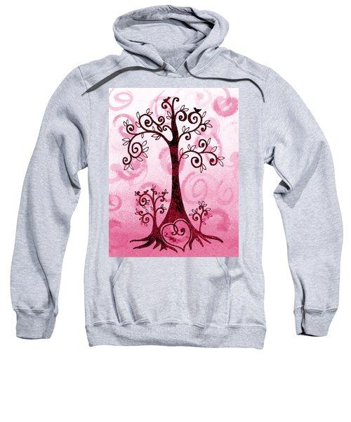 Whimsical Tree And Hidden Heart Sweatshirt