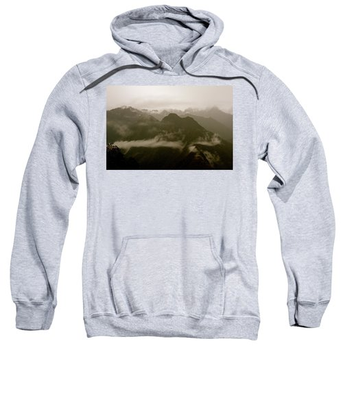 Whispers In The Andes Mountains Sweatshirt