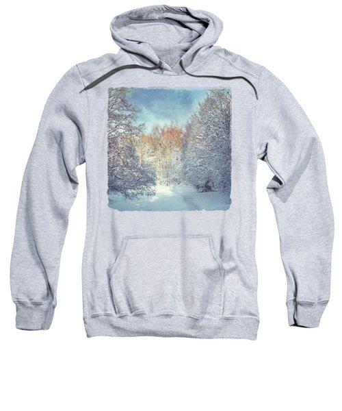 White Blanket - Winter Landscape Sweatshirt