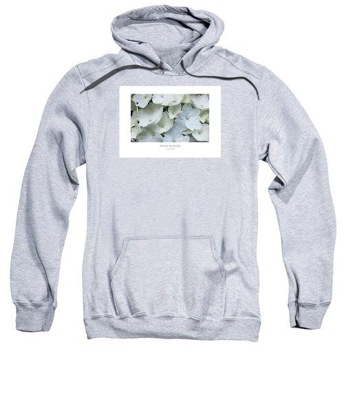 White Blossom Sweatshirt