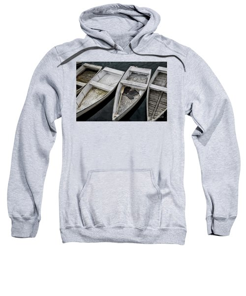 White Boats Sweatshirt