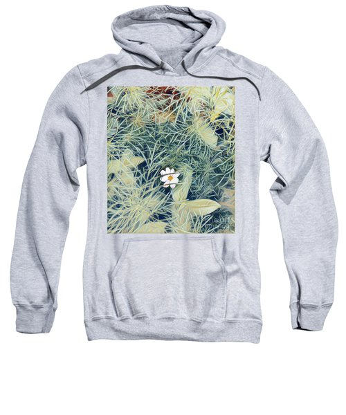 White Cosmo Sweatshirt