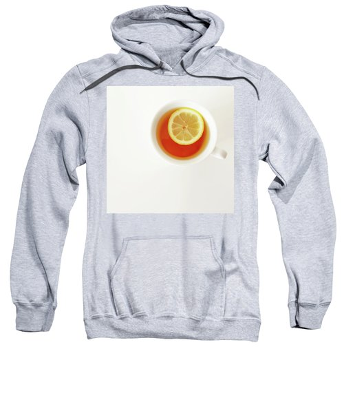 White Cup Of Tea With Lemon Sweatshirt
