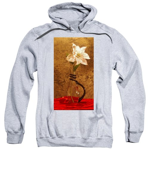 White Flower Sweatshirt