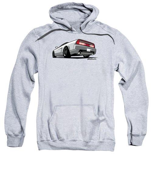 White Honda Acura Nsx Sweatshirt
