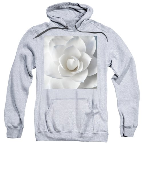 White Petals Sweatshirt