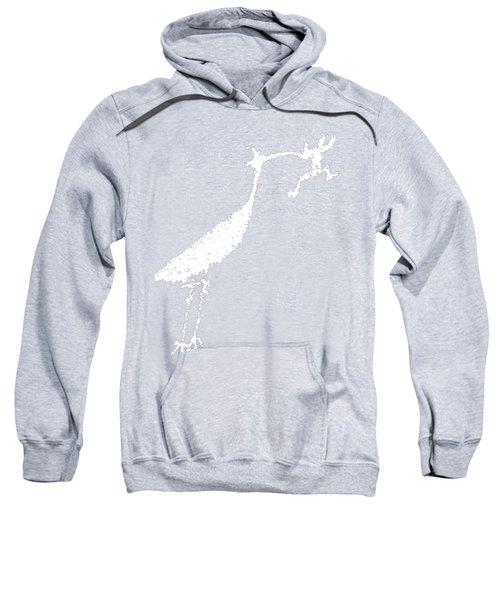 White Petroglyph Sweatshirt