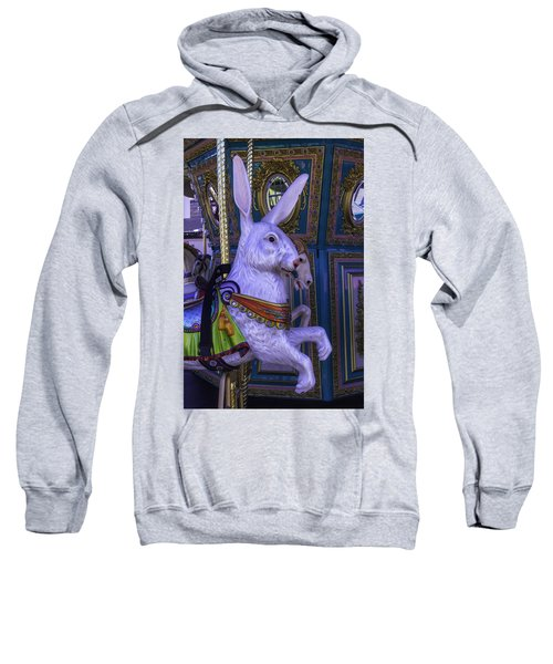 White Rabbit Carrousel Ride Sweatshirt