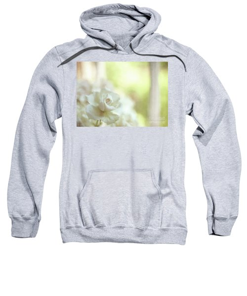 White Rose Sweatshirt