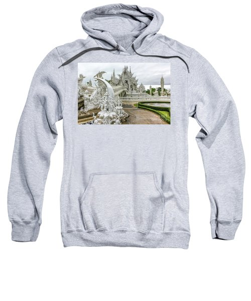 White Temple Thailand Sweatshirt