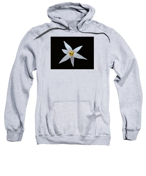 White Trout Lily Sweatshirt