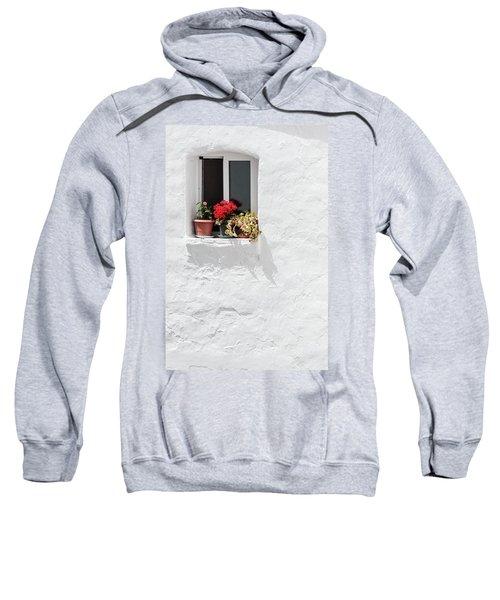 White Window Sweatshirt