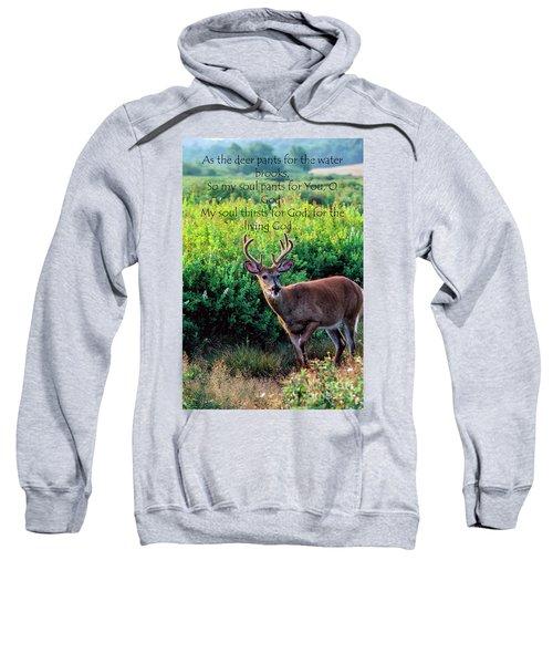Whitetail Deer Panting Sweatshirt